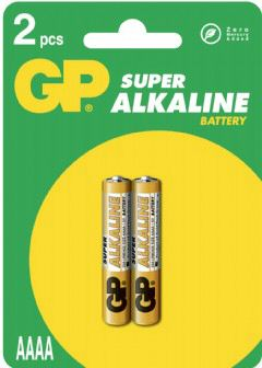 GP Ultra Alkaline LR61 (AAAA) blister 2 (25A)
