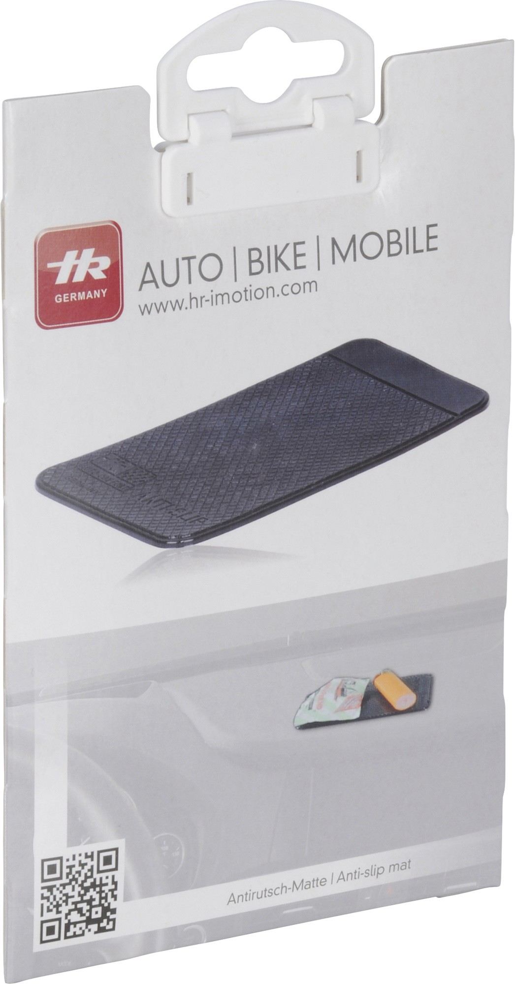 HR i-Motion Anti-slip mat - zwart