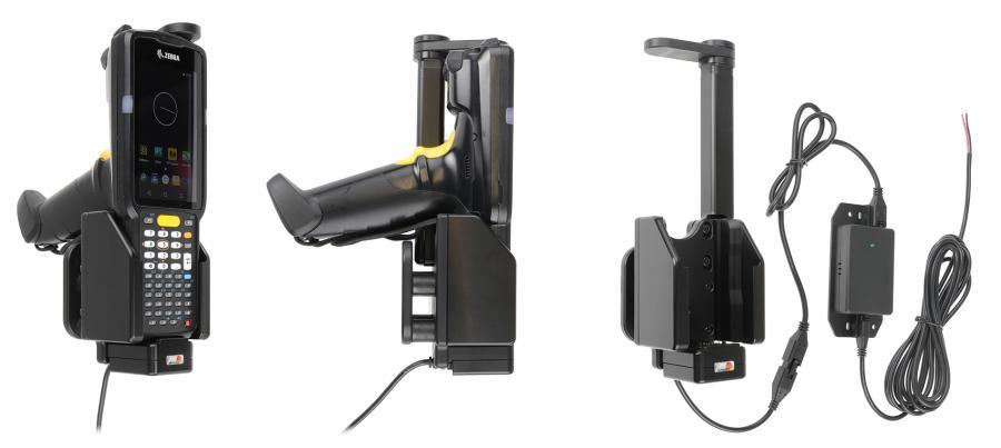 Brodit houder/lader Zebra MC3300 swiveling top 3A-sig.plug