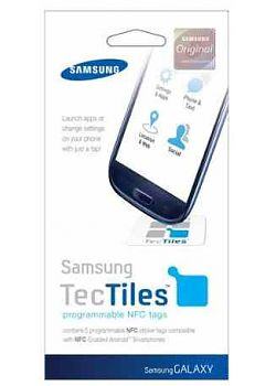 Samsung EAD-X11SWE NFC Sticker TecTiles (5 stuks)