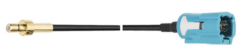 adapterkabel 500 cm SMB M - FAKRA F RG 174