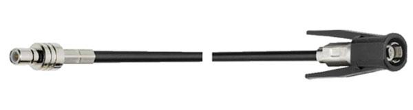 adapterkabel 500 cm SMB M - Wiclic M RG174