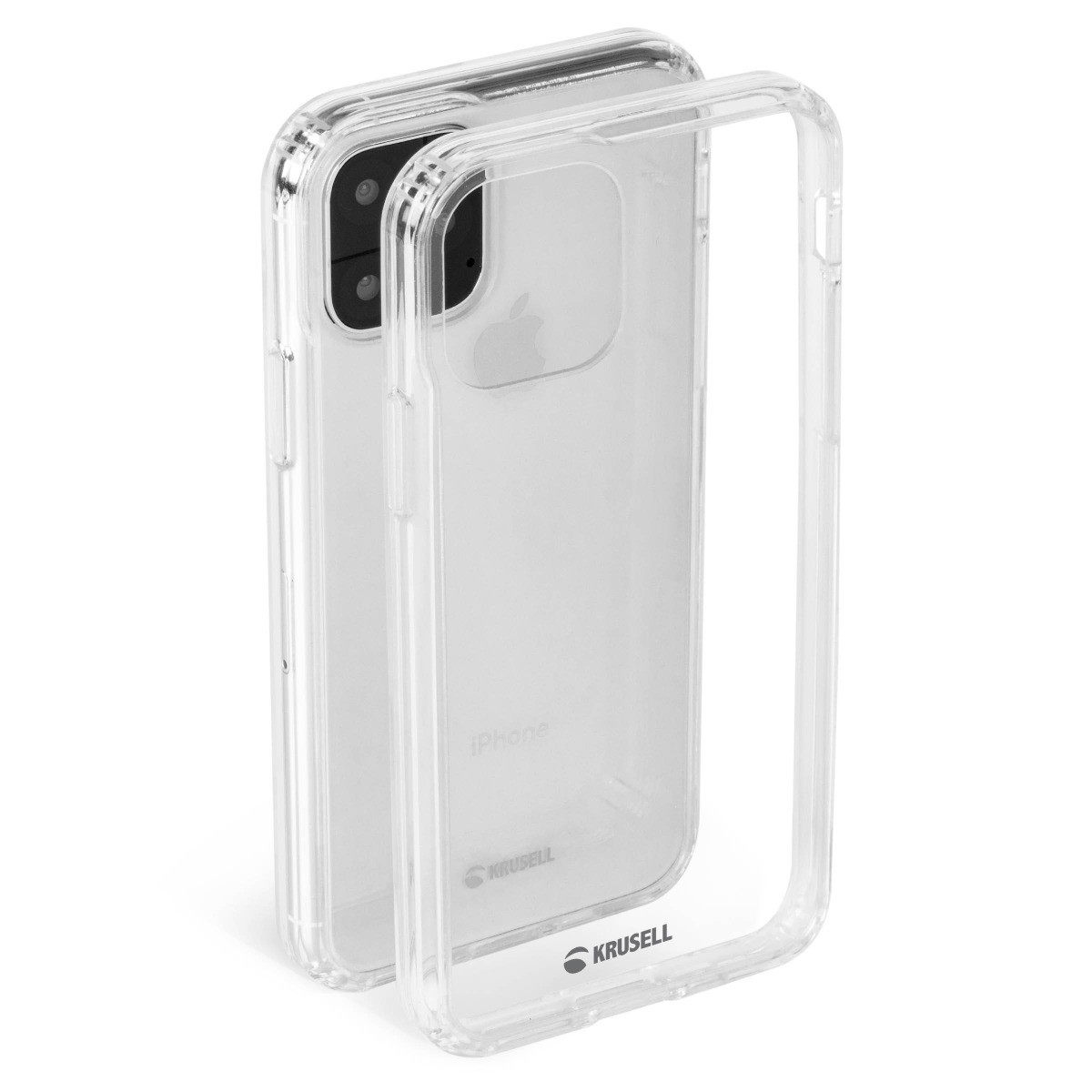 Krusell Kivik Cover Apple iPhone 11 Pro Max - Transparent