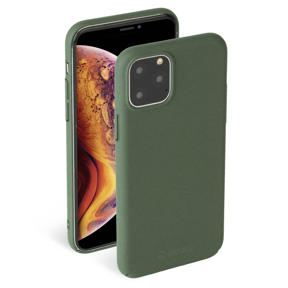 Krusell Sandby Cover Apple iPhone 11 Pro - Moss