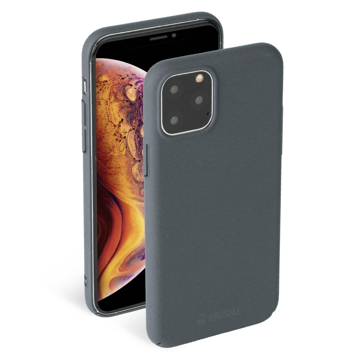 Krusell Sandby Cover Apple iPhone 11 Pro Max - Stone
