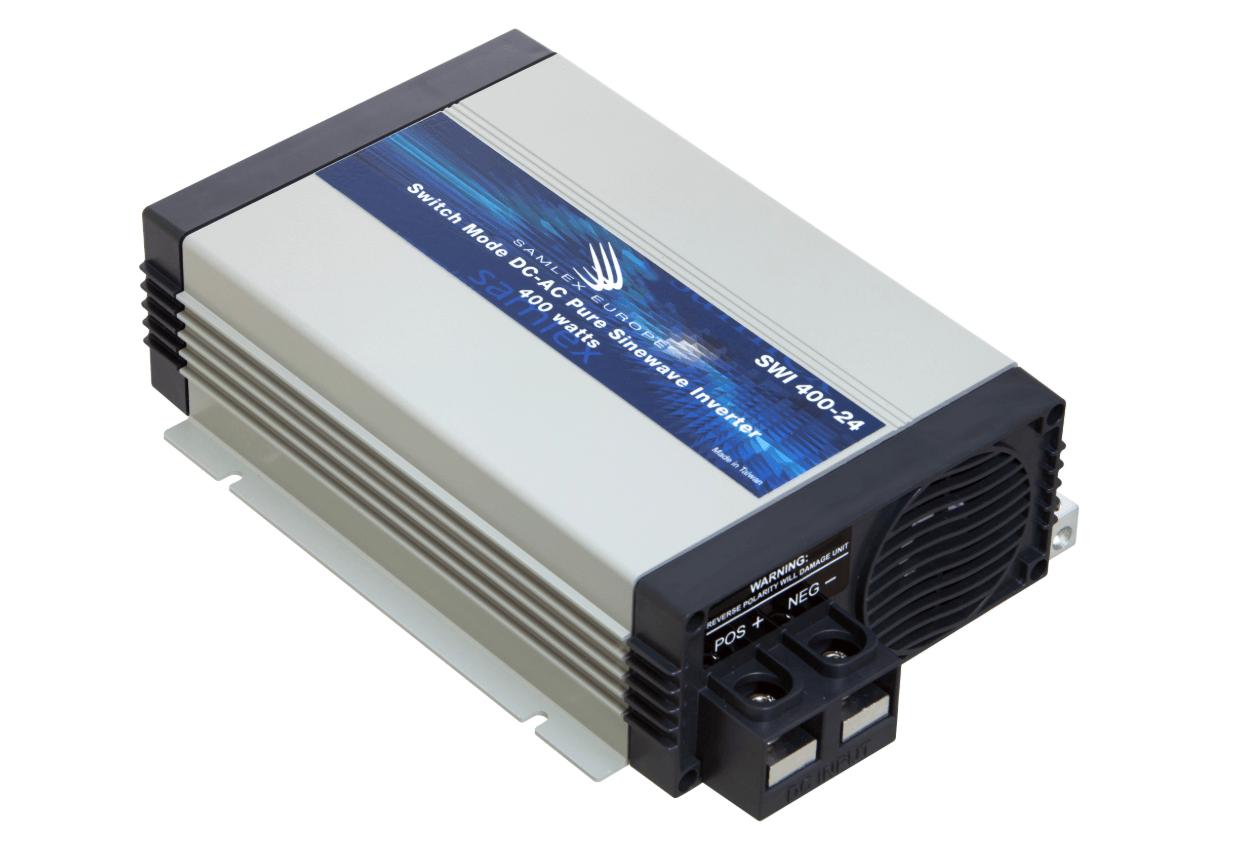 Omvormer 24V - 230V 400W zuivere sinus