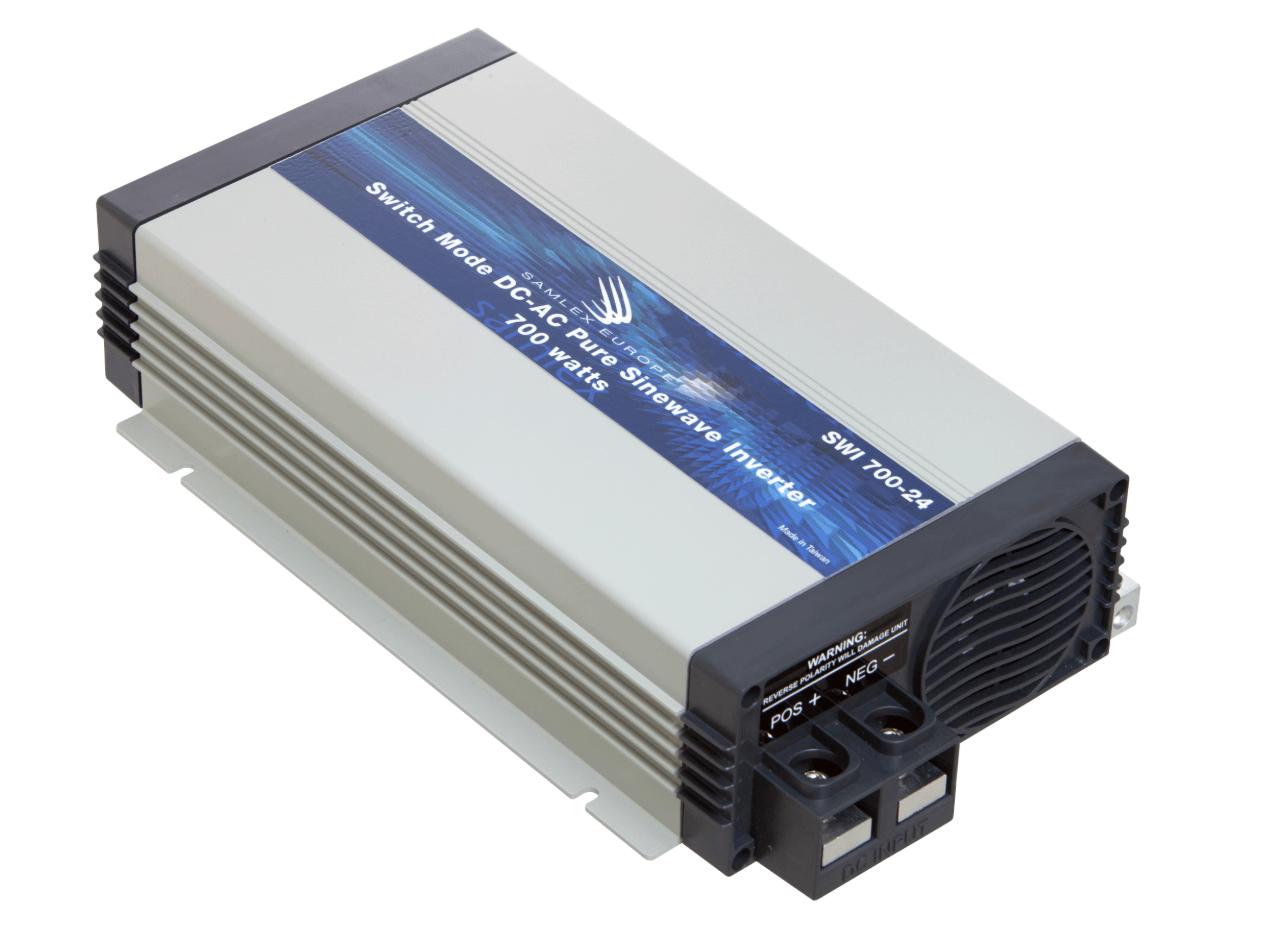 Omvormer 24V - 230V 700W zuivere sinus