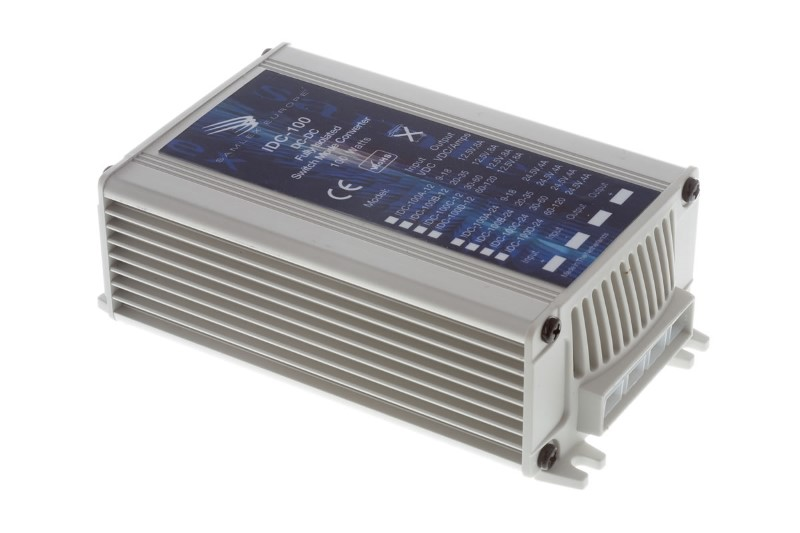 DC-DC switch omvormer 60-120v input/12.5V output 8A