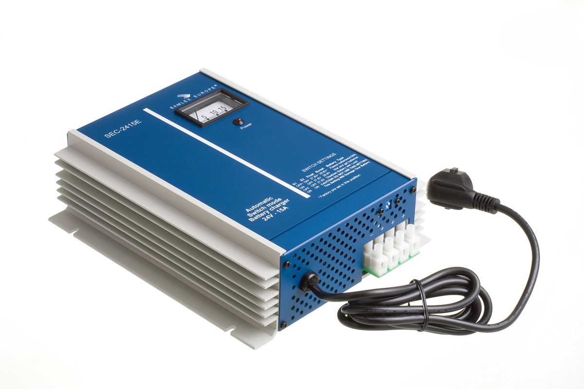 Battery Chargers 15 Amps 27.6-29.6 VDC