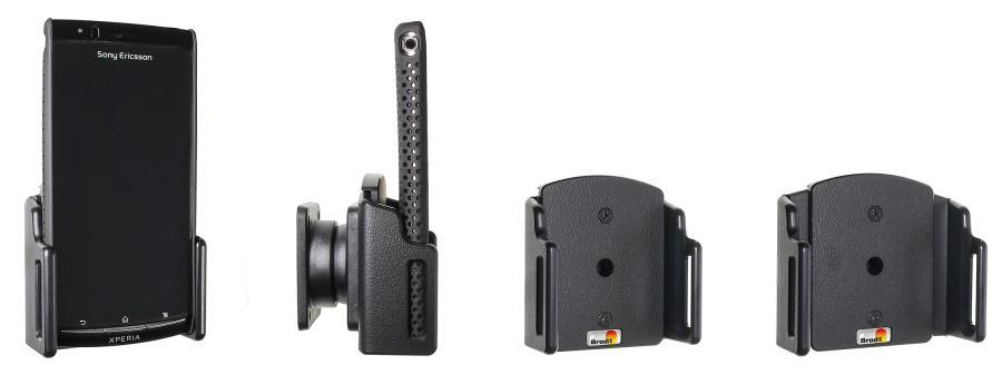 Brodit houder verstelbaar 62-77/6-10mm bxd