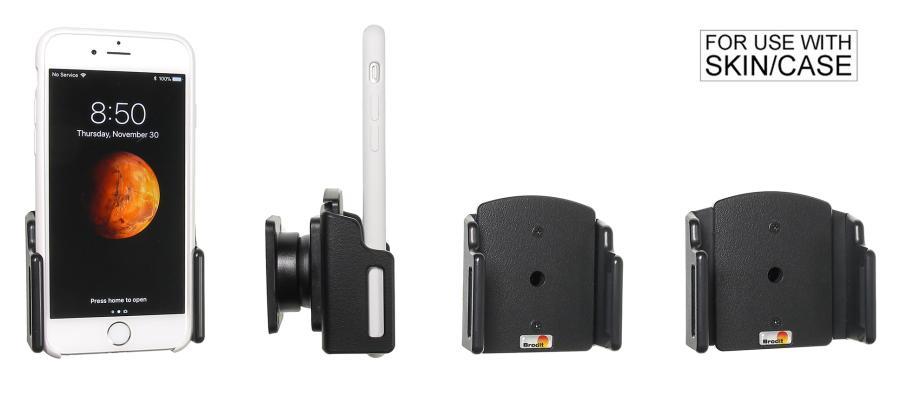 Brodit houder Apple iPhone 7/8/X/Xs (verstelb.) 62-77/2-10mm