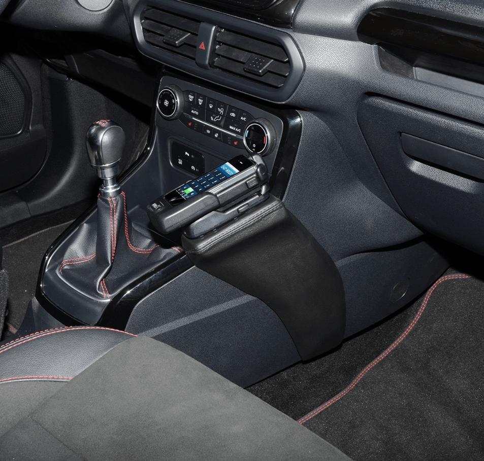 Kuda console Ford Ecosport 02/2018-