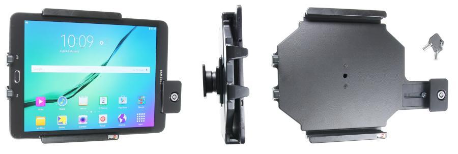 Brodit houder Universeel Tablet 160-185/ 240-270mm met slot