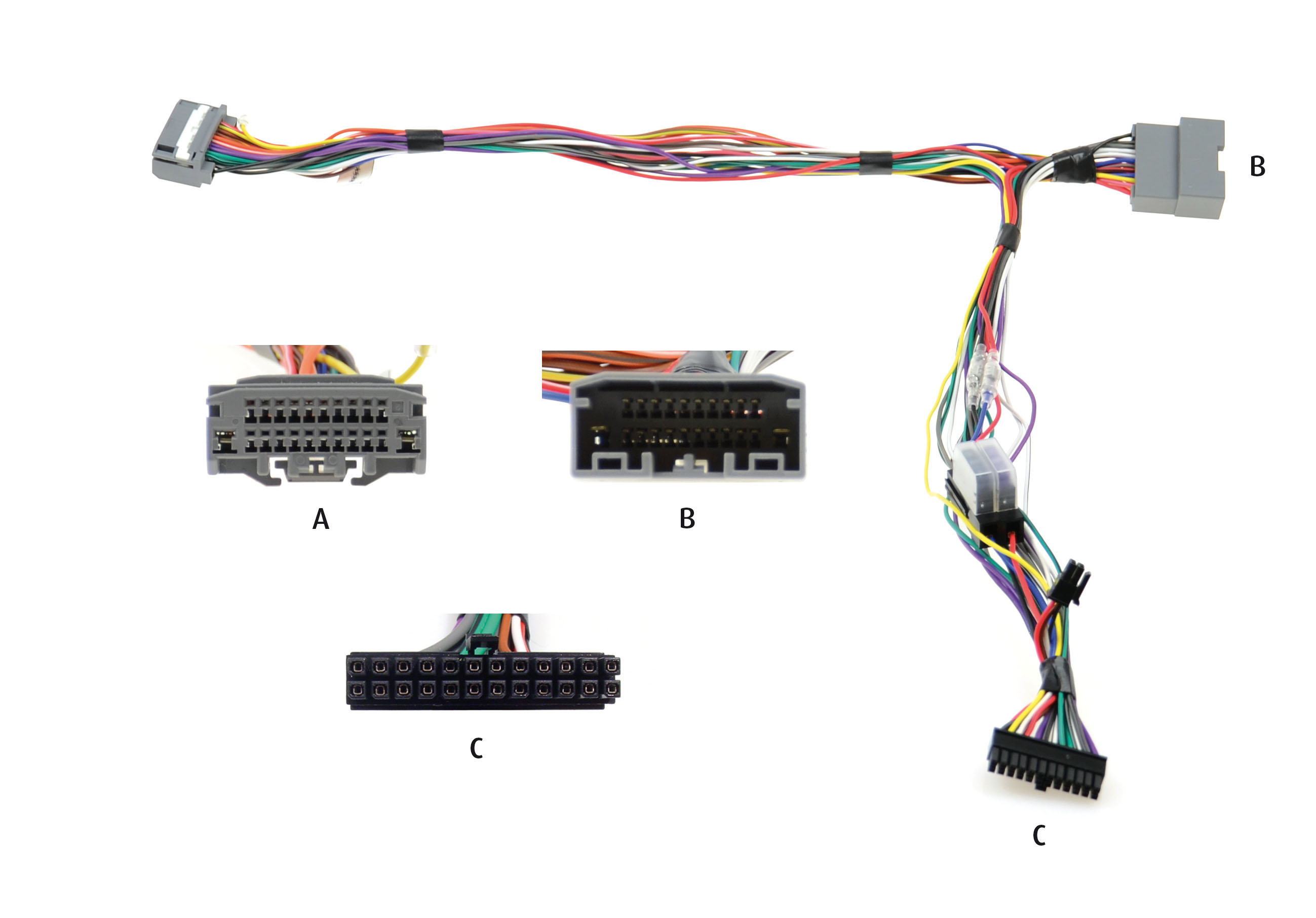 Kram Audio2Car Chrysler 2007- standaard audio systeem