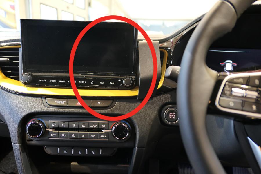 "Proclip Kia Ceed 19- ONLY for 8.2+10.2""display- Center RHD"