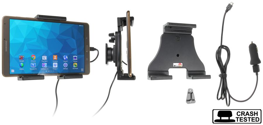 Brodit h/l Tablet verstelb.120-150mm USB sig.-plug USB-C