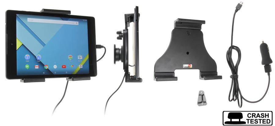 Brodit h/l Tablet verstelb.140-195mm USB sig.-plug USB-C