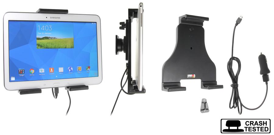 Brodit h/l Tablet verstelb.180-230mm USB sig.-plug USB-C