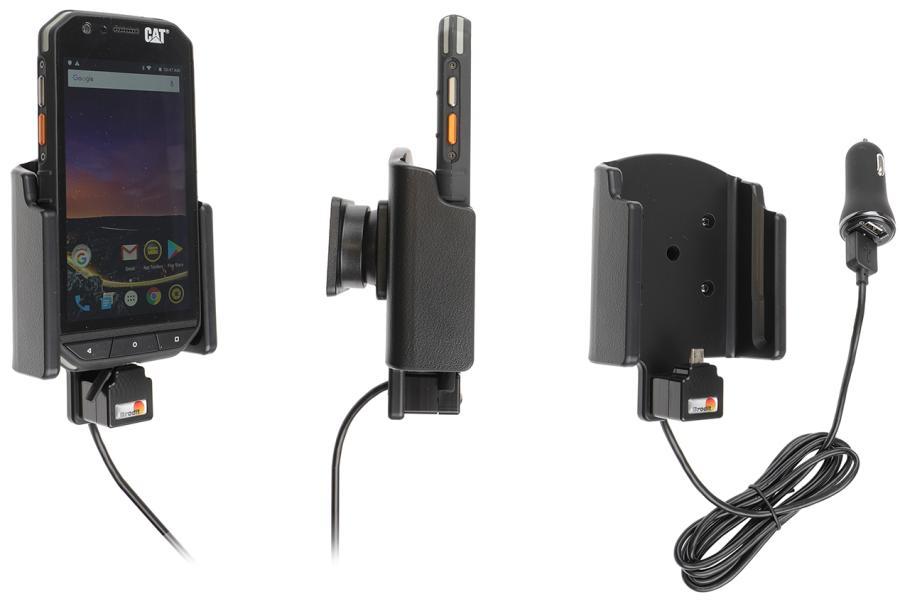 Brodit houder/lader CAT S31 USB sig.