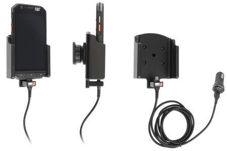 Brodit houder/lader CAT S31 USB sig.(magnetic tip)