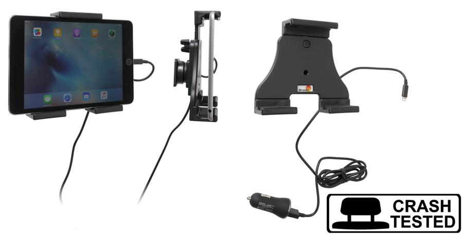 Brodit h/l tablet verstelb.120-150 mm met USB sig.-Lightning