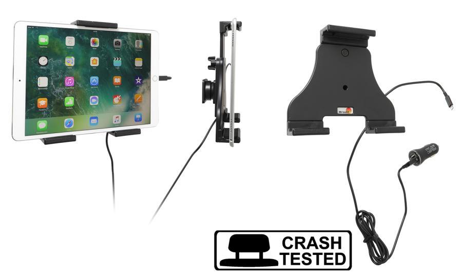 Brodit h/l tablet verstelb.140-195 mm met USB sig.-Lightning