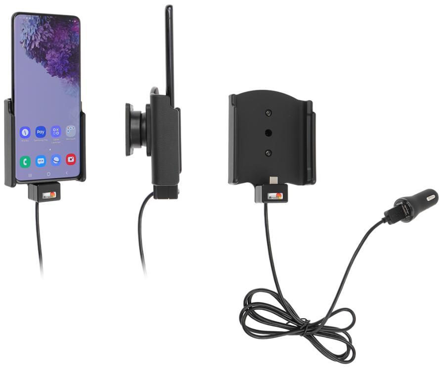 Brodit houder/lader Samsung Galaxy S20 Plus USB sig.plug
