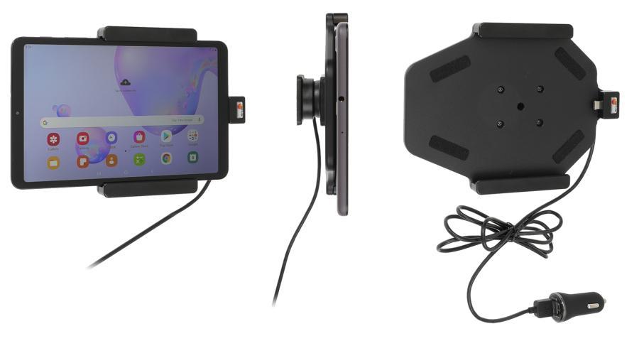 Brodit houder/lader Sam.Galaxy Tab A 8.4 (2020) USB sig.plug