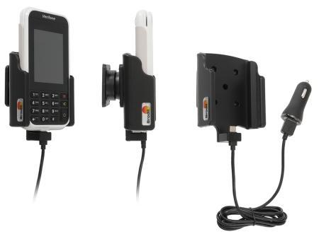 Brodit houder/lader VeriFone e285 USB sig.plug