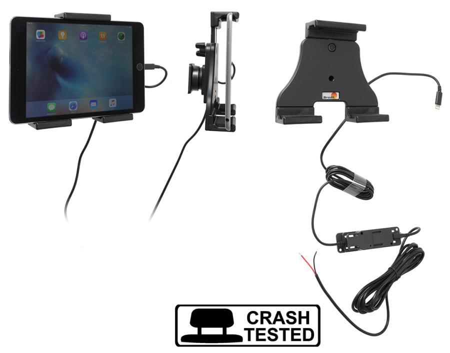 Brodit h/l tablet verstelb.120-150mm-fixed instal.-Lightning