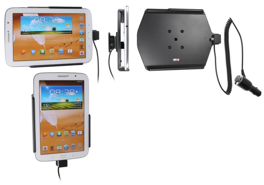 Brodit houder/lader Samsung Galaxy Note 8.0 N5100 sig.plug