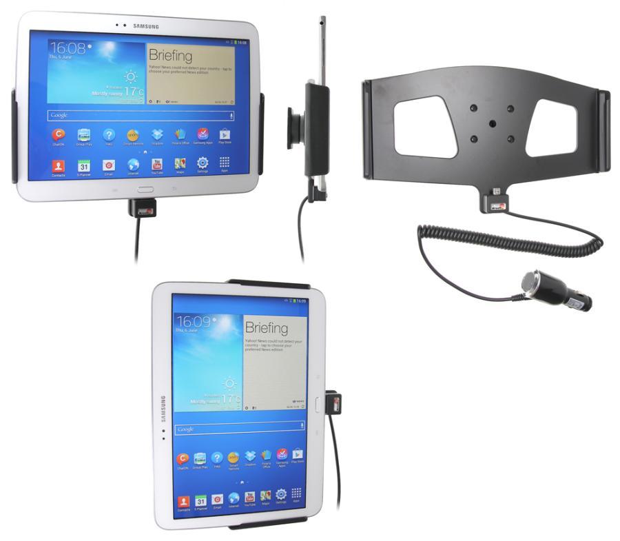 Brodit houder/lader Samsung Galaxy Tab 3 10.1 P5210 sig.plug