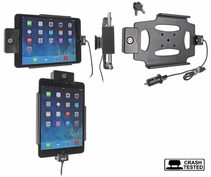 Brodit houder/lader Apple iPad Mini 2/ Mini 3 Sig. Plug LOCK