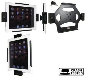 Brodit houder all cable iPad 2/iPad 3 LOCK zichtb.homebutton
