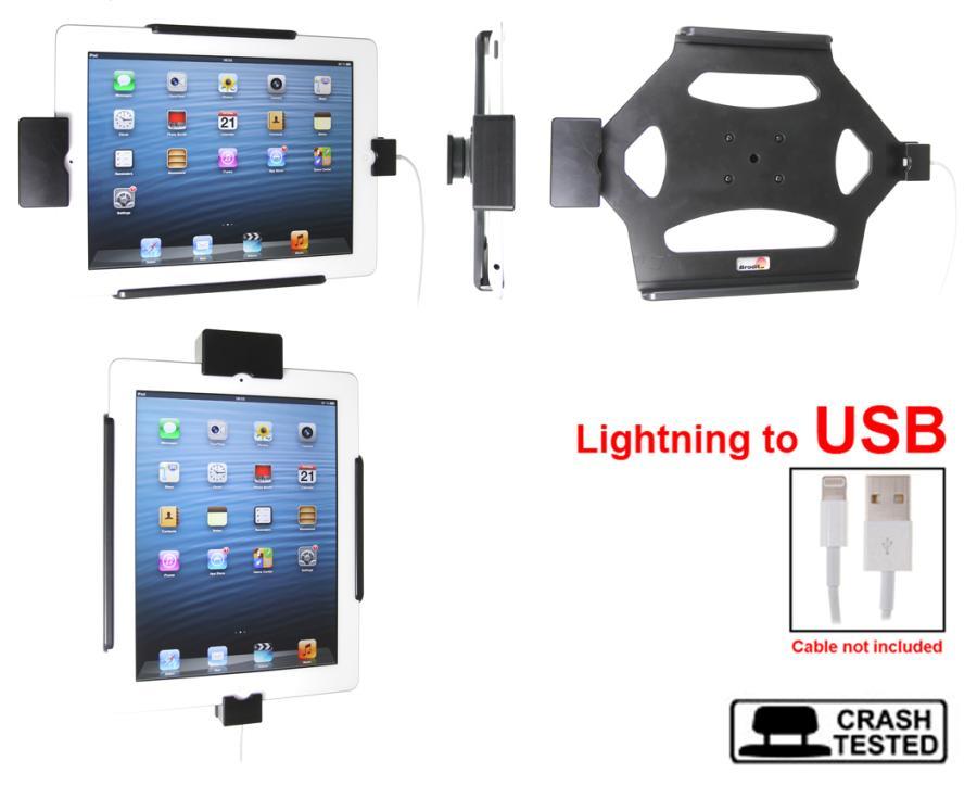Brodit h/l Apple iPad 4 voor org.lightning-usb (veerweerst.)
