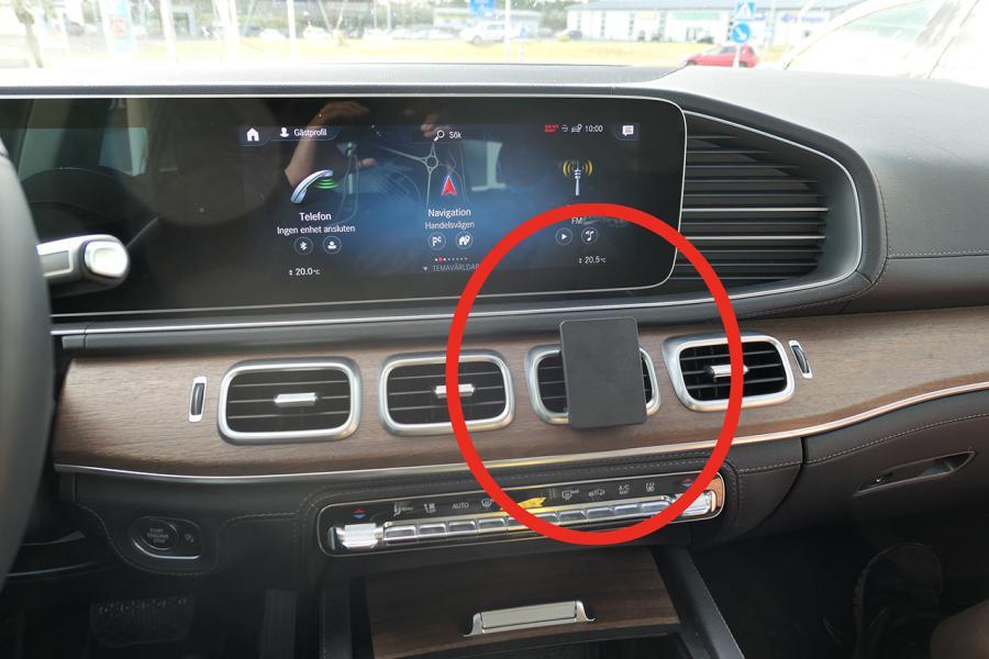 Proclip Mercedes Benz GLE-Class 19- Center mount