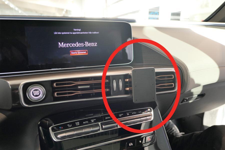 Proclip Mercedes Benz EQC 20- Angled mount