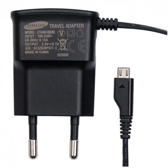 Reislader 230V Samsung ETAOU10EBE Org. Micro USB