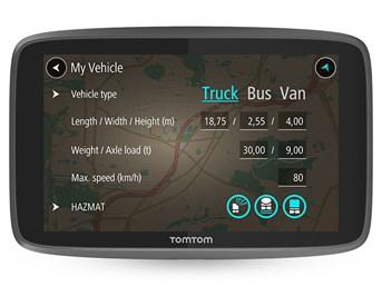 TomTom GO Professional 520 EU - 5 inch