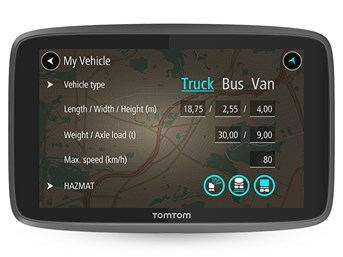 TomTom GO Professional 6250 EU - 6 inch